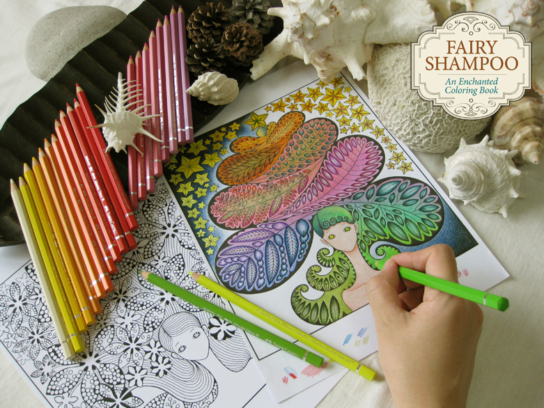 Artwork And Creative Themes Have Made Her Work A Favorite For Many Coloring Enthusiasts Fairy Shampoo Is First Book Published In North America